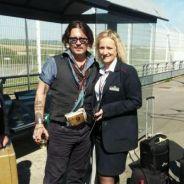Johnny Depp : bloqué dans un Eurostar en panne, l'acteur offre quelques selfies aux passagers