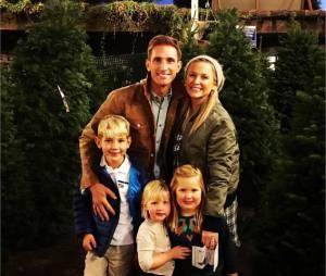 Jessica Capshaw (Grey's Anatomy) avec son mari et ses enfants
