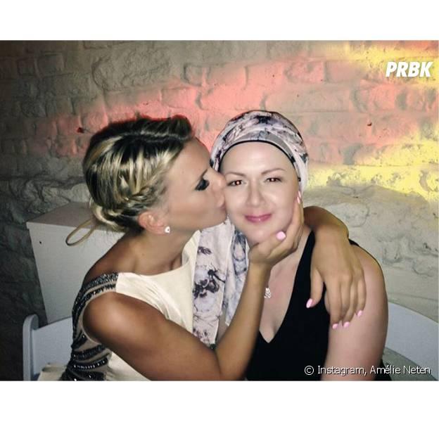 Amélie Neten rend hommage à sa soeur atteinte d'un cancer sur Instagram le 15 mai 2016