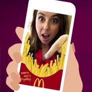Snapchat : les filtres McDonald's envahissent le réseau social