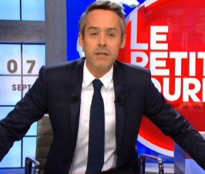 Yann Barthès se moque d'Elodie Gossuin dans Le Petit Journal après son intervention pendant l'Eurovision 2016
