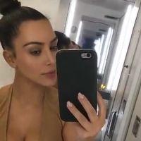 Kim Kardashian enceinte de Kanye West ? Paniquée, elle partage son test de grossesse sur Snapchat
