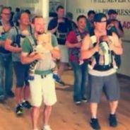 Ces papas dansent avec leurs bébés et deviennent des stars du web