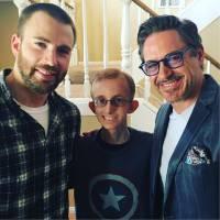 Captain America et Iron Man réconciliés grâce à un fan atteint d'un cancer