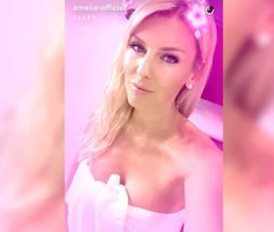 Amélie Neten dévoile les fesses de Benoit Dubois sur Snapchat le jeudi 26 mai 2016