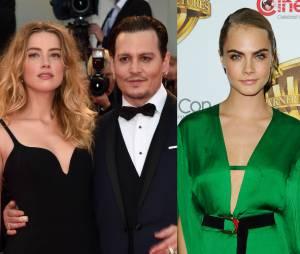 Amber Heard aurait trompé Johnny Depp avec Cara Delevingne
