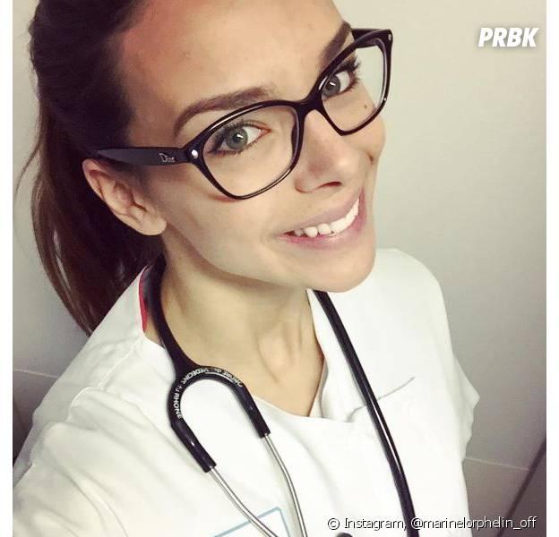 """Marine Lorphelin """"déçue"""", elle a loupé ses examens de médecine."""