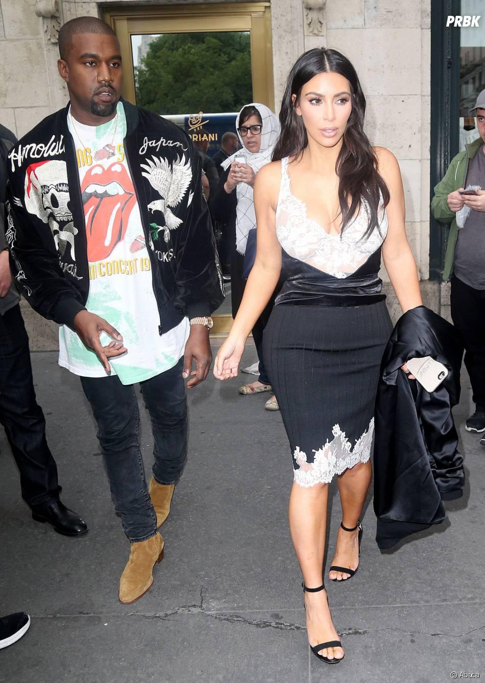 Kim Kardashian et Kanye West au bord du divorce ?