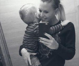 Hugo, le fils d'Amélie Neten, a bien grandi.