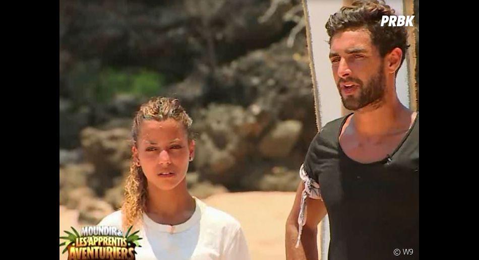 Anissa et Valentin perdent l'épreuve dans Moundir et les apprentis aventuriers, et se disputent.