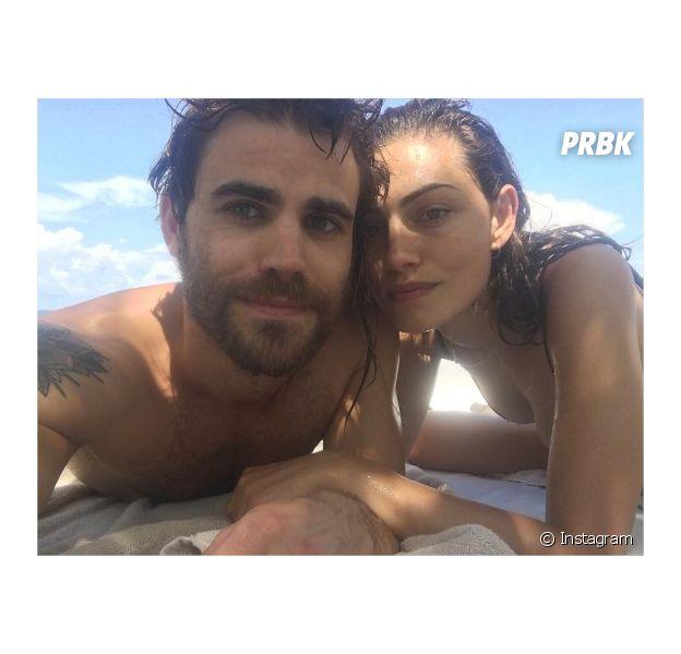 Paul Wesley et Phoebe Tonkin amoureux au Mexique en juillet 2016