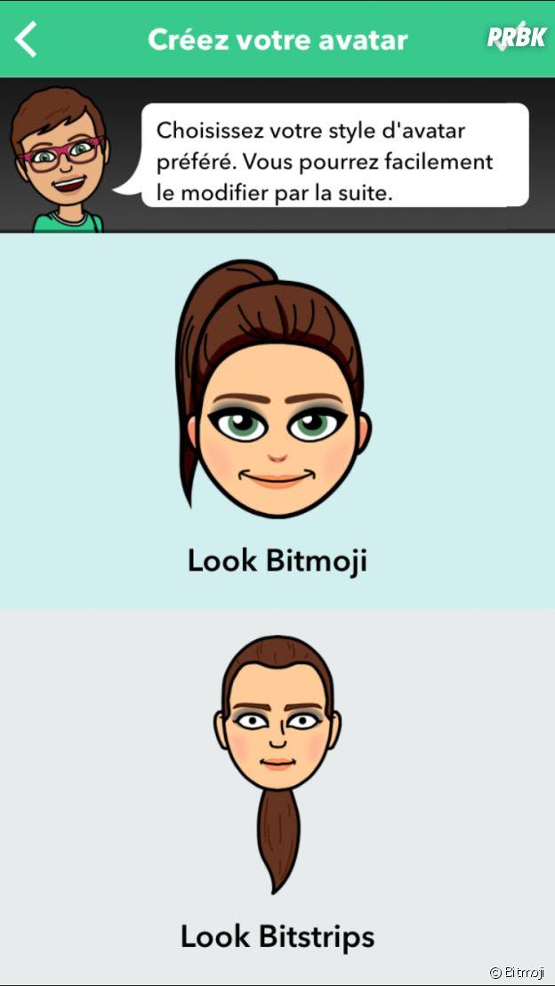 Choisissez le look de votre emoji