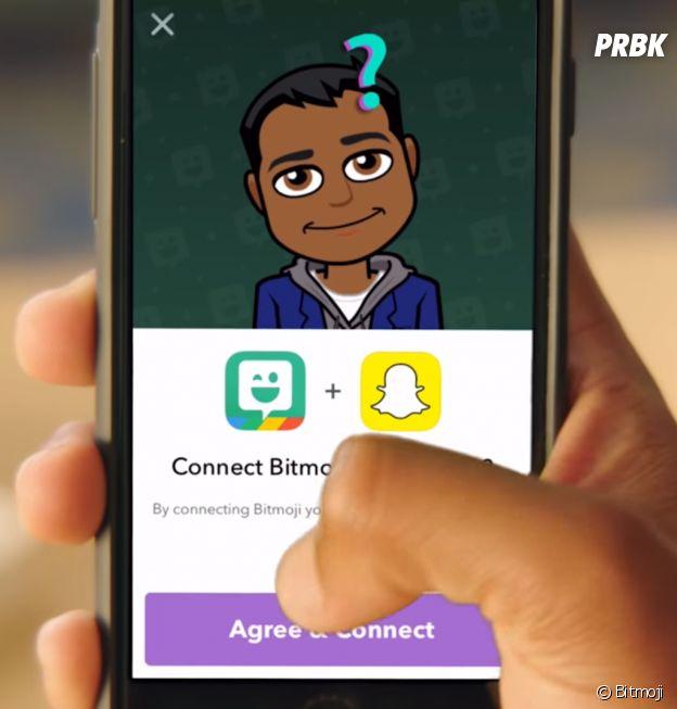 Reliez Bitmoji à Snapchat