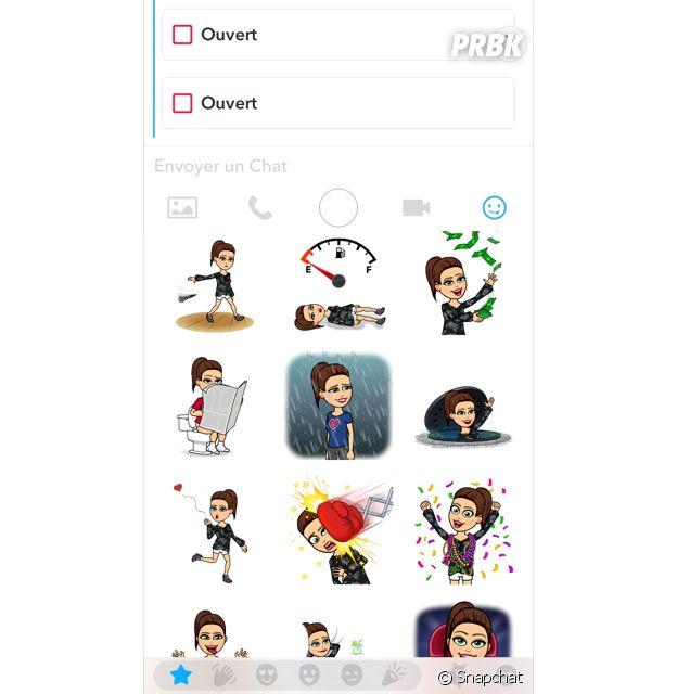 Envoyez vos emoji à vos amis