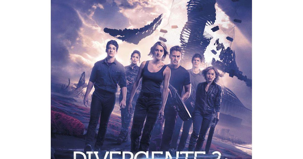 Divergente 4 la s rie et le t l film confirm s par for 4 dans divergente