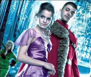 Viktor Krum et Hermione Granger dans Harry Potter et la Coupe de feu
