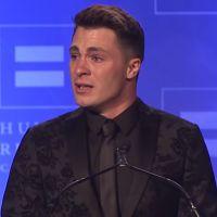 Colton Haynes : l'acteur de Arrow en larmes pour recevoir un prix après son coming out