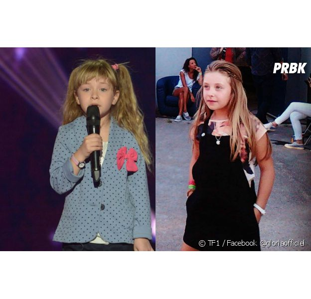 Gloria (The Voice Kids) après grandi depuis deux ans