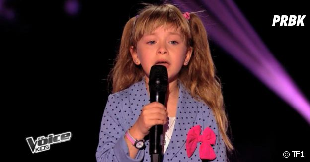 Gloria dans The Voice Kids