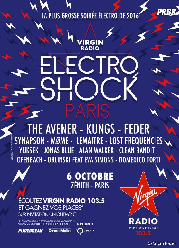Rendez-vous le 6 octobre au Zénith de Paris !