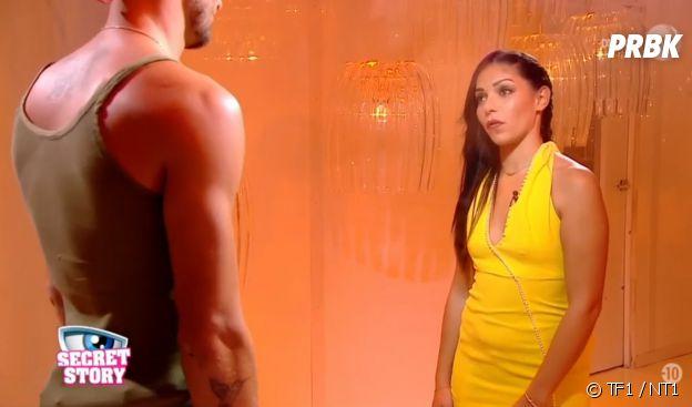 Sophia (Secret Story 10) face à Bastien : elle lui dit ses quatre vérités.