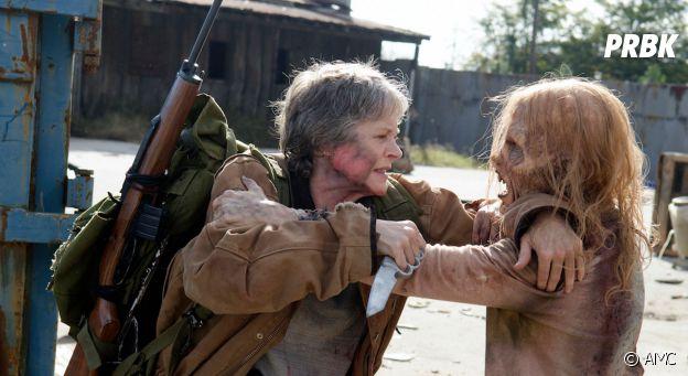 The Walking season 7 : Carol et Negan.