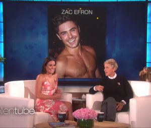 Lea Michele avoue son big crush pour Zac Efron sur le plateau d'Ellen Degeneres