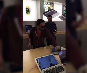 Dijon : il entre dans un Apple Store et casse des iPhones, iPads et MacBooks
