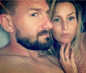 Aurélie Van Daelen (Mad Mag) et Milo, son chéri, complètement in love sur Instagram.