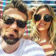 Aurélie Van Daelen (Mad Mag) et Milo, son chéri, trop mignons sur Instagram.