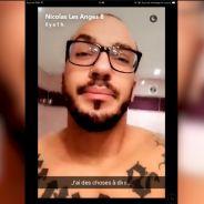 """Nicolas règle ses comptes avec Nadège sur Snapchat : """"Je ne suis pas un crevard"""""""