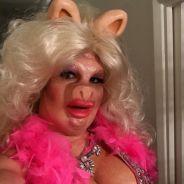 Colton Haynes en cochonne botoxée : son déguisement de Halloween osé et décalé