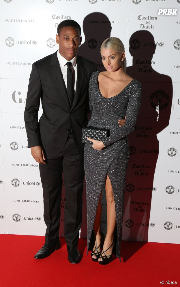 Mélanie Da Cruz et Anthony Martial en couple au Gala Manchester United pour l'Unicef