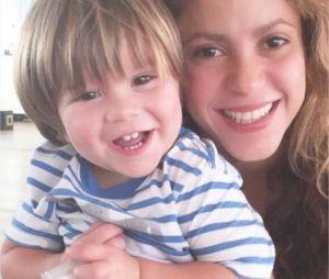Shakira donne des nouvelles de son fils Sasha sur Instagram