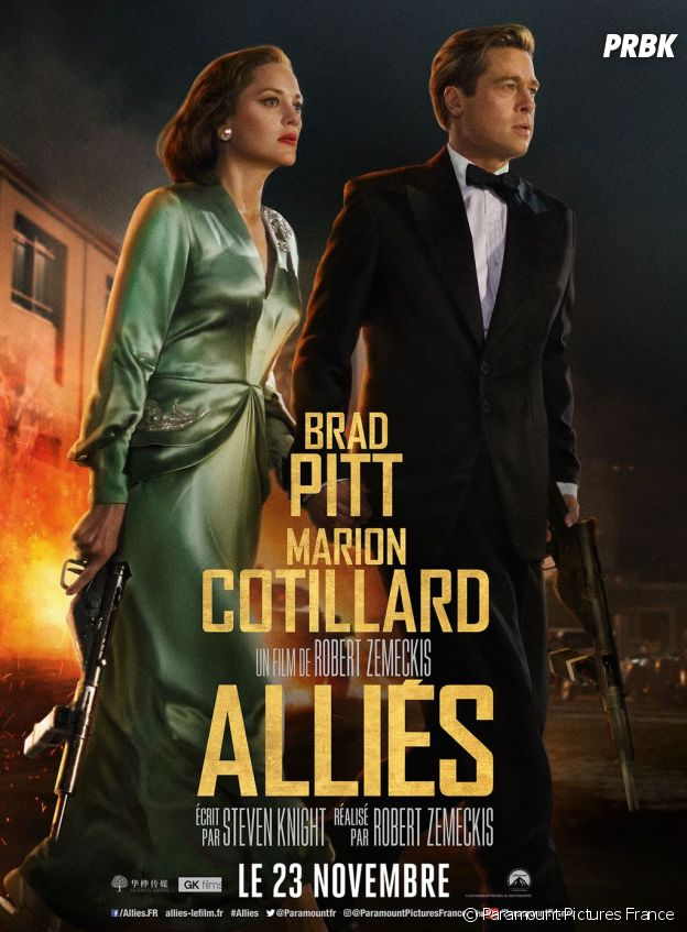 Alliés : affiche et photos du film.