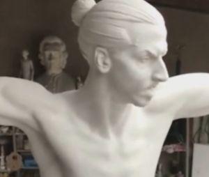 Découvrez à quoi va ressembler la statue de Zlatan Ibrahimovic.