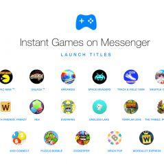 Space Invaders, Pac-Man... Facebook intègre 17 jeux gratuits dans Messenger 🎮
