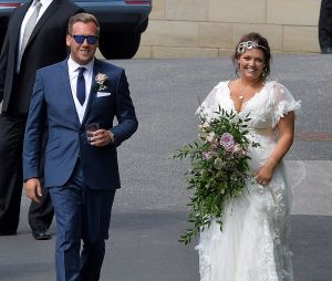 Johannah Deakin, la mère de Louis Tomlinson, s'esst mariée avec Dan Deakin en juillet 2014