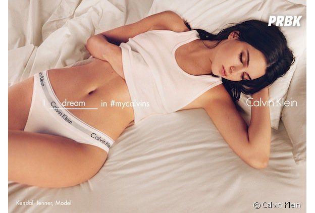 Kendall Jenner sexy en sous vêtements pour Calvin Klein