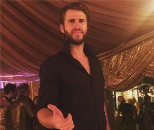 Liam Hemsworth lors de la Saint-Sylvestre 2016