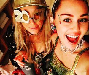 Miley Cyrus et sa maman Trish