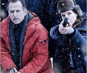 Julia Piaton et Charles Berling dans la série Glacé, diffusée sur M6
