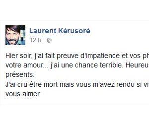 Laurent Kerusoré (Plus belle la vie) pousse un coup de gueule