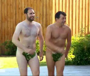 Stéphane Plaza s'affiche entièrement nu dans Chasseurs d'appart