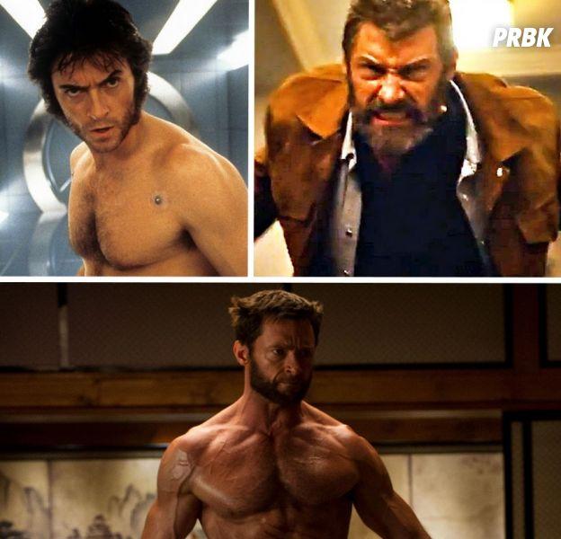 Logan : l'incroyable évolution de Hugh Jackman