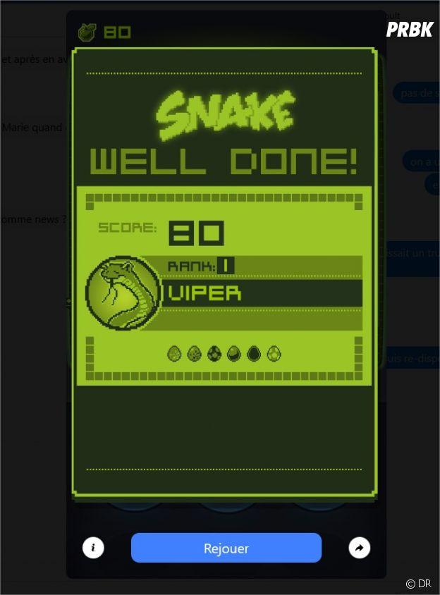 Snake de retour : voici comment jouer au jeu culte