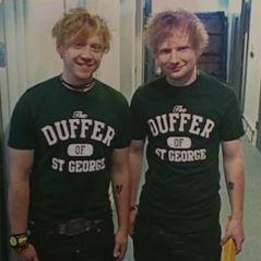 Ed Sheeran et Rupert Grint sosies ? La star d'Harry Potter souvent confondue avec le chanteur