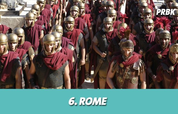 Rome est la 6ème série la plus chère de tous les temps