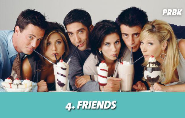 Friends est la 4ème série la plus chère de tous les temps