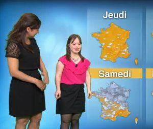 Mélanie Ségard : la jeune fille trisomique présente la météo, les internautes bouleversés